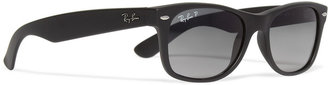 Ray-Ban New Wayfarer Polarised Matte Sunglasses