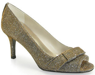 Stuart Weitzman Bowever - Pewter Iridescent Pump