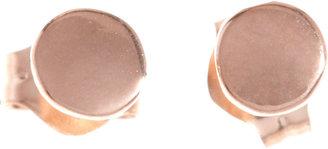 Wendy Nichol Rose Gold Large Circle Stud Earrings