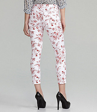 Liverpool Jeans Company Abby Floral-Print Skinny Jeans