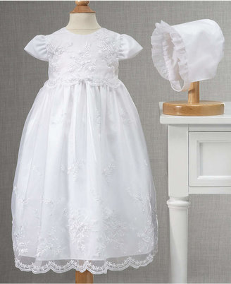 Lauren Madison Baby Girls' Embroidered Christening Gown $82 thestylecure.com