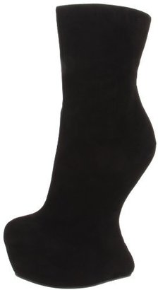 Giuseppe Zanotti Women's Suede Platform Wedge Ankle Boot