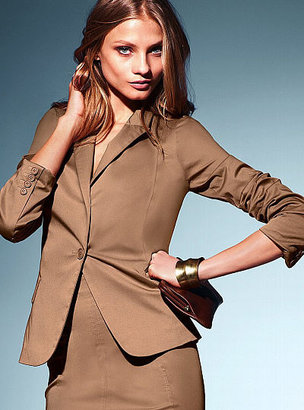 Victoria's Secret Fitted One-button Jacket