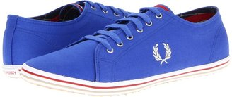 Fred Perry Kingston Twill Tipped (Dazzling Blue) - Footwear