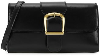 Rylan 2.1 Small Black Leather Cross-body Bag