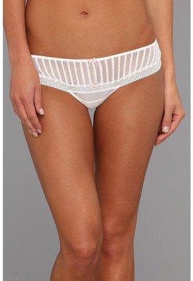 Betsey Johnson Stocking Stripe Wide Side Thong 722601 Women's Underwear