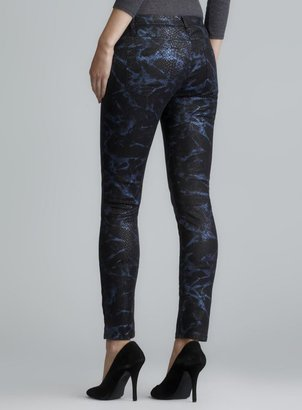 Blank NYC The Spray On Super Skinny Snake Skin Printed Pants