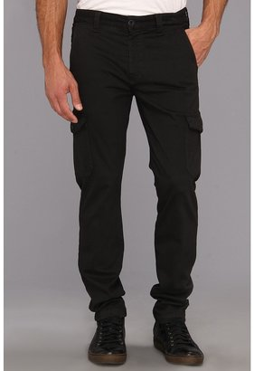 7 For All Mankind The Cargo Pant in Sueded Twill (Gun Metal) - Apparel