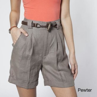 American Apparel Women's Pleated Shorts $48.99 thestylecure.com