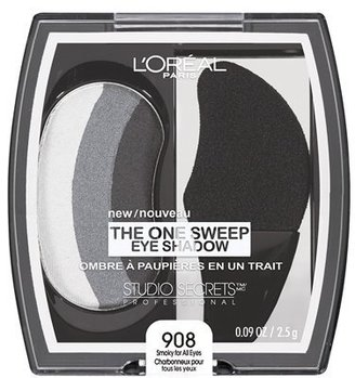L'Oreal Studio Secrets One Sweep Eyeshadow Collection - Smoky for All Eyes