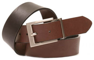 GUESS Reverse Color Leather Belt