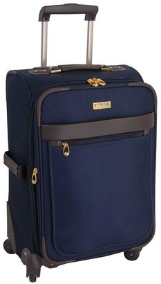 London Fog Towne by luggage, 21-in. expandable spinner carry-on