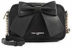 Karl Lagerfeld Paris Bow Crossbody Bag