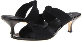 Donald J Pliner Rachi (Black/Black) - Footwear