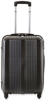 "JCPenney Sutton Boulevard 25"" Hardside Spinner Upright Luggage"