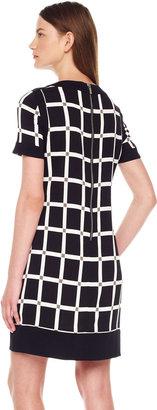 Michael Kors Grid-Print Dress