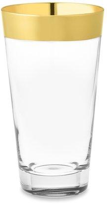 Williams-Sonoma Gold Banded Highball Glasses, Set of 4