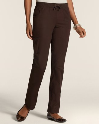 Chico's Woven Collection Quilted Edene Pants