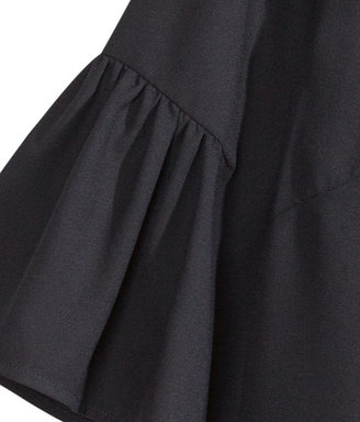 H&M Ruffle Blouse - Black - Ladies