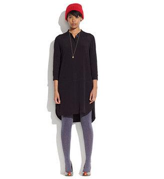 Madewell Long-sleeve tunic dress