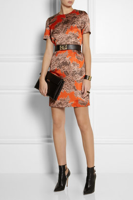Sophie Hulme Textured-leather and gold-plated belt