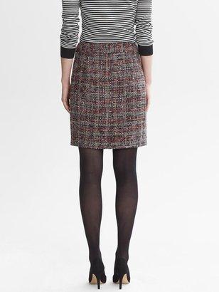 Banana Republic Ombre Tweed Pencil Skirt