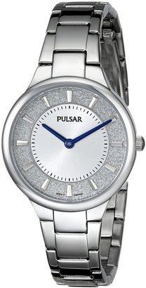 Pulsar Women's PM2129 Analog Display Japanese Quartz Silver Watch