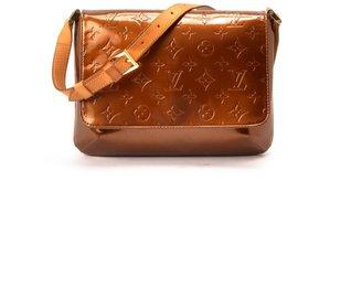 Louis Vuitton Pre-Owned: bronze patent leather monogram 'Thompson Street' bag