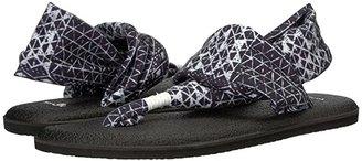 Sanuk Yoga Sling 2 Prints (Black Ojai Folk) Women's Sandals