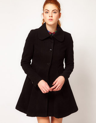Vila Flared Coat