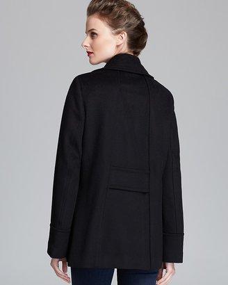 Calvin Klein Coat - Button Down Side Pockets