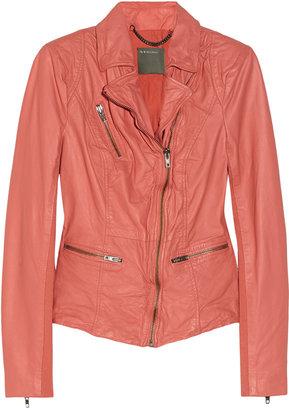Muu Baa Muubaa Sirius leather biker jacket