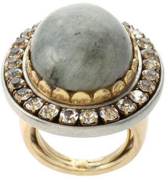 Juicy Couture Gray Labradorite Embellished Ring