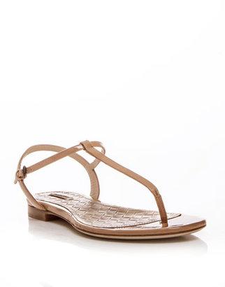 Bottega Veneta T-bar flat sandals