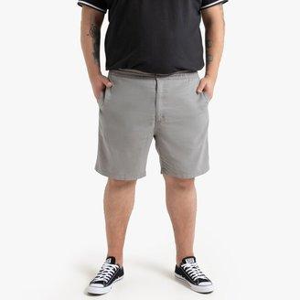 La Redoute Collections Plus Cotton Chino Bermuda Shorts