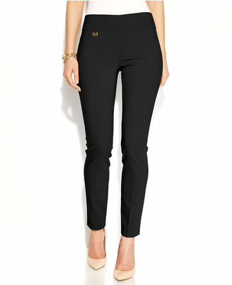 Alfani Tummy-Control Skinny Pants, Created for Macy's $39.98 thestylecure.com