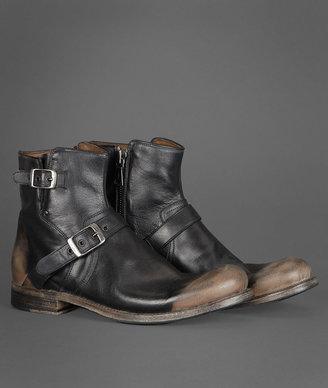 John Varvatos Engineer Buckle Boot