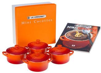 Le Creuset Mini Cocottes Gift Set Flame