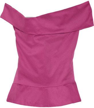 Vivienne Westwood Apache draped cotton top