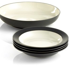 Noritake Colorwave Rim 5 Piece Pasta Set