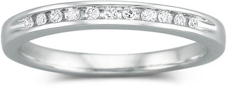 MODERN BRIDE I Said Yes 1/10 CT. T.W. Certified Diamond Wedding Band
