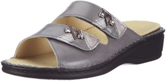 Hans Herrmann Collection Womens Siena Clogs and Mules Grey Size: 2 UK