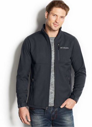 Columbia Men Ascender Water-Resistant Softshell Jacket