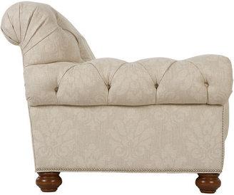 Ethan Allen Chadwick Bench-Cushion Sofa