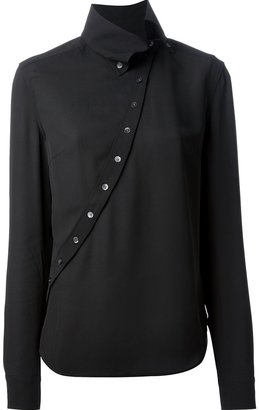 McQ by Alexander McQueen asymmetric blouse