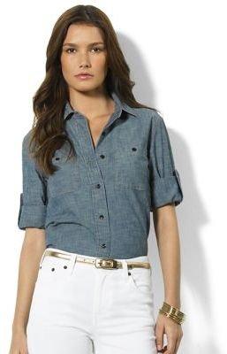 Lauren Ralph Lauren Cristo Chambray Shirt