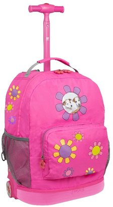 "J World 8"" Daisy Rolling Backpack -"