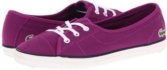 Lacoste Zianechnkw (Purple/Dark Blue) - Footwear