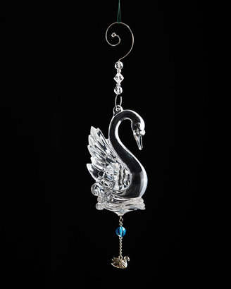 Waterford Seven Swans-A-Swimming Christmas Ornament