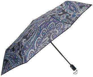 Vera Bradley Umbrella (Deep Night Paisley) Umbrella
